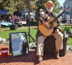 Live Music Performed At The Thursday St. Andrews Farmers'Market! Musician Bob Bowman!